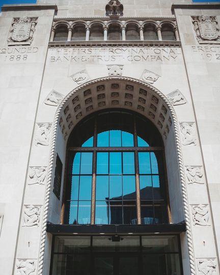Massive east-facing window