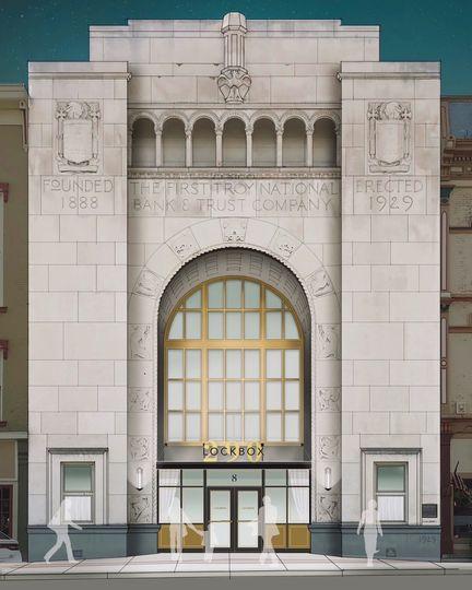 Art-Deco inspired