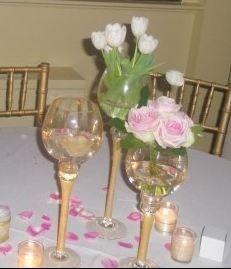 Centerpieces - Indoor Wedding