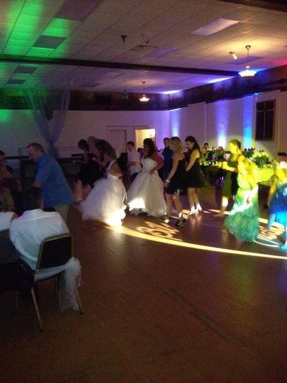 thurman wedding dancing