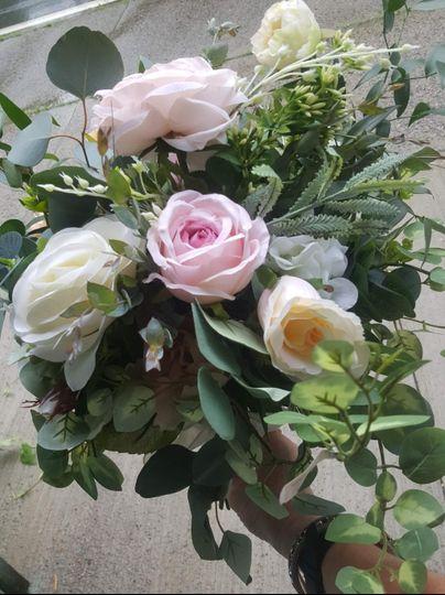 Artificial Silk Flower Bouquet