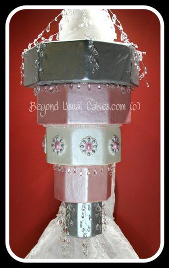 chandelier cake