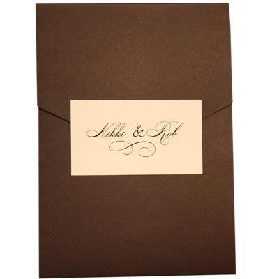 Tmx 1245609810032 ElegantBorderedPocketOutsidecopy Tampa wedding invitation