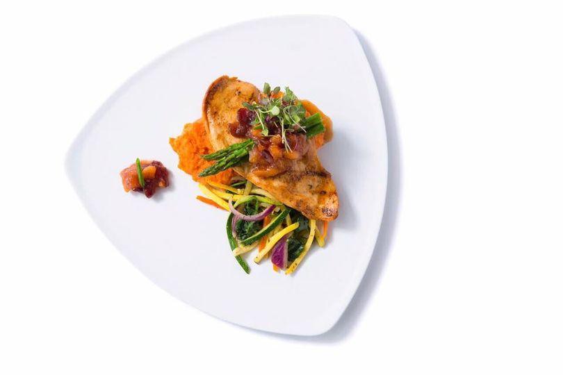 Colorful dish