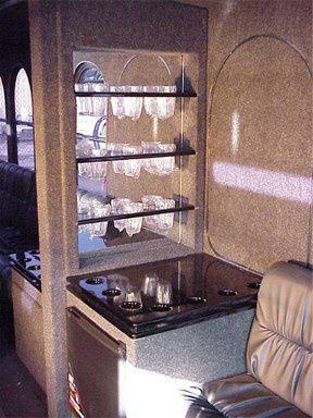 trolleylimo glassware