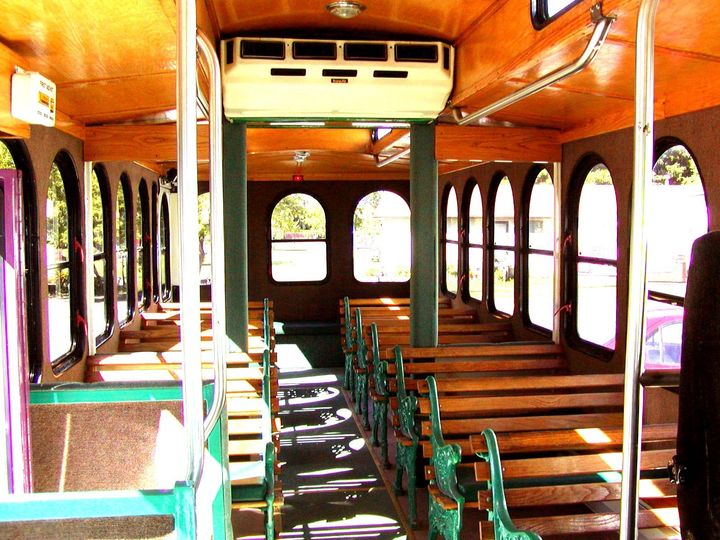 Tmx 1455807442911 Trolley2 3 Interior Geneva wedding transportation