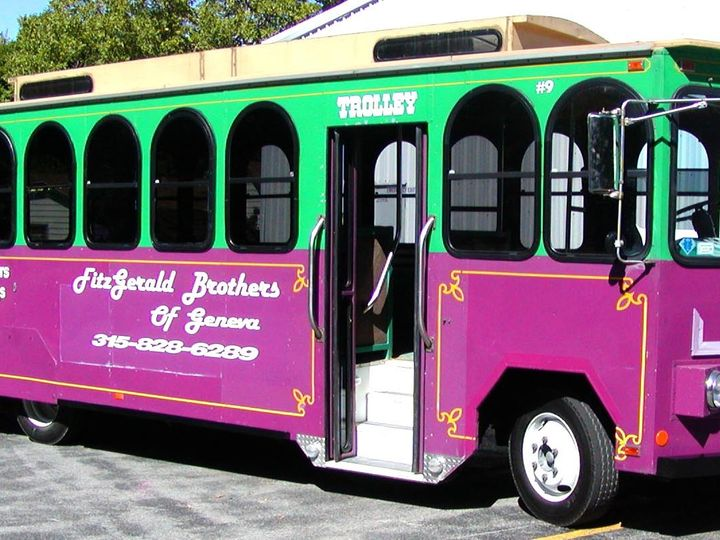 Tmx 1455807452376 Trolley2 3exterior Geneva wedding transportation