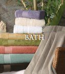 Luxurious Bath Towels and Curtains
