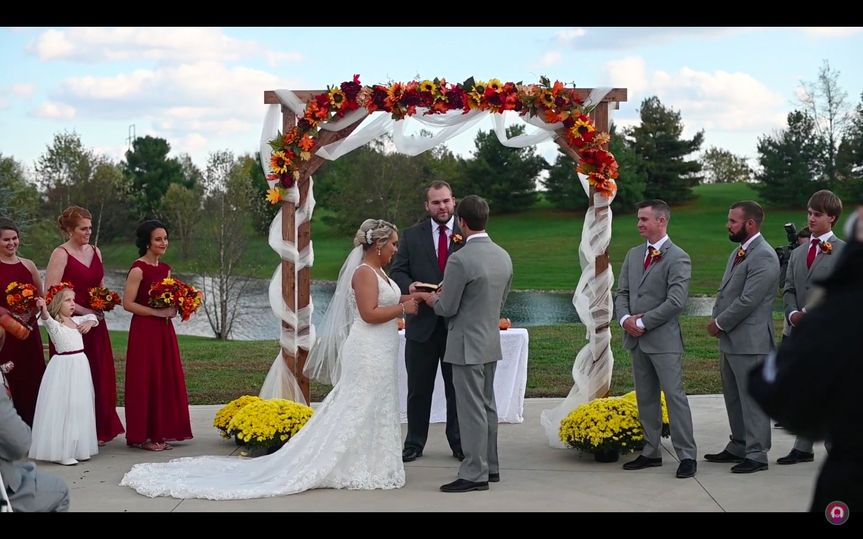 A memorable ceremony