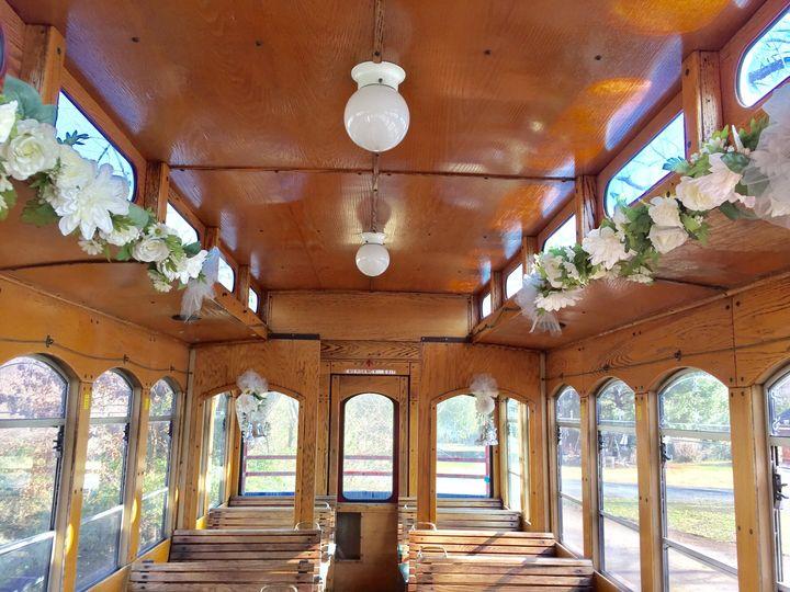 The wedding trolley