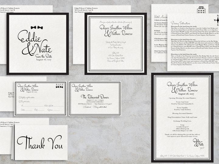 Tmx 1466701181128 Blackandwhite Package1 Santa Barbara wedding invitation
