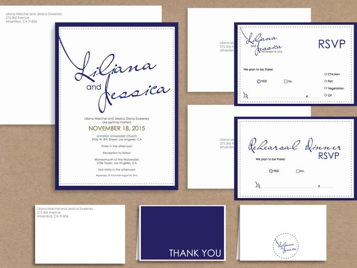Tmx 1467219497196 Big Names Package Santa Barbara wedding invitation