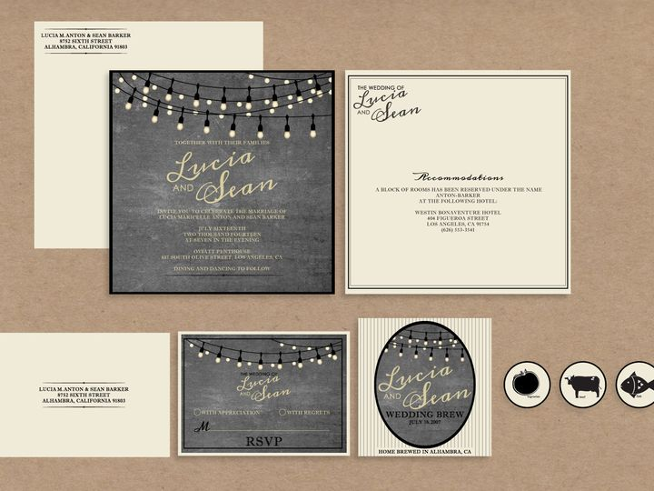 Tmx 1467733961486 Edison Package Santa Barbara wedding invitation