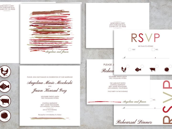 Tmx 1467750538591 Art Package Santa Barbara wedding invitation