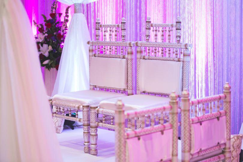 Newlyweds' seats