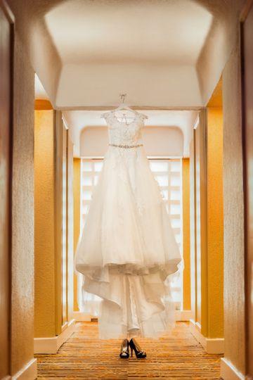Stunning wedding dress