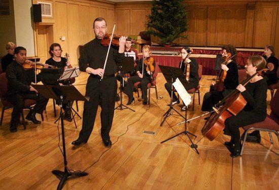 Full string ensemble.