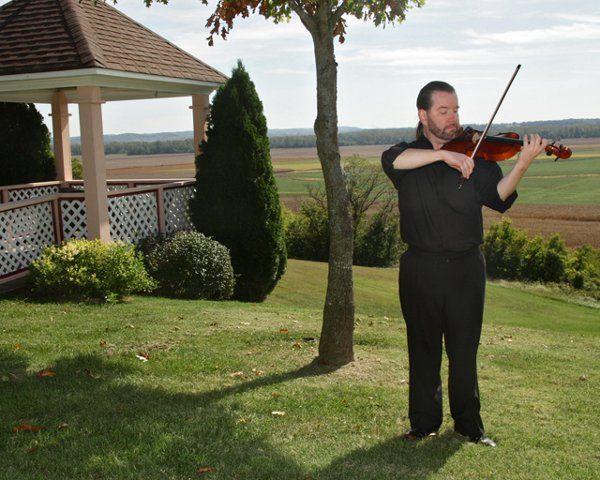 Mt. Pleasant Winery, Wedding Ceremony-Solo Violin.