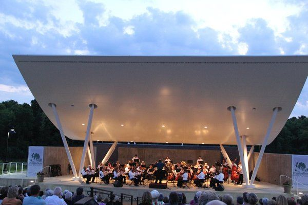 """""""Music Under the Stars"""" Chesterfield Amphitheater."""