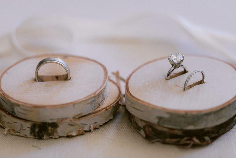 Engagement ring display