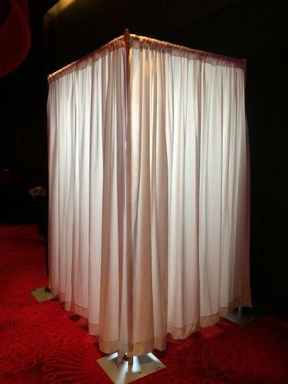 Photobooth corner