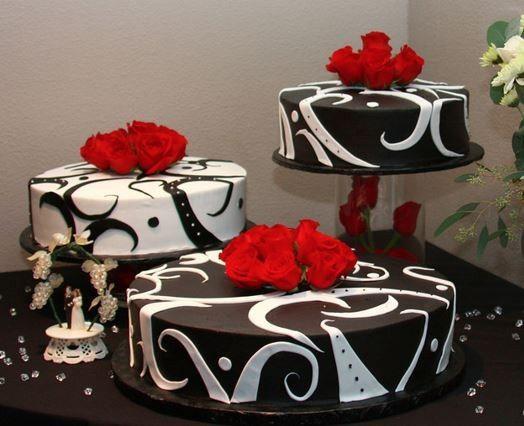 black and white anniversary