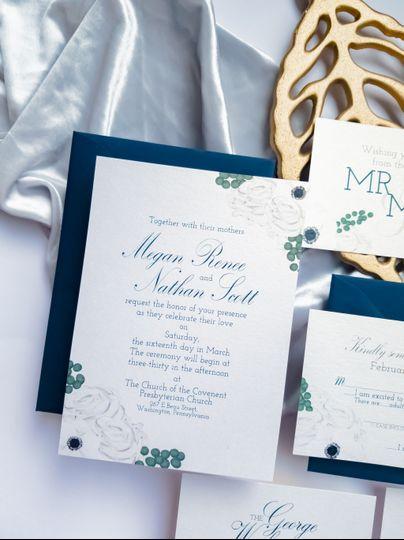 Megan & Nate's Invitations