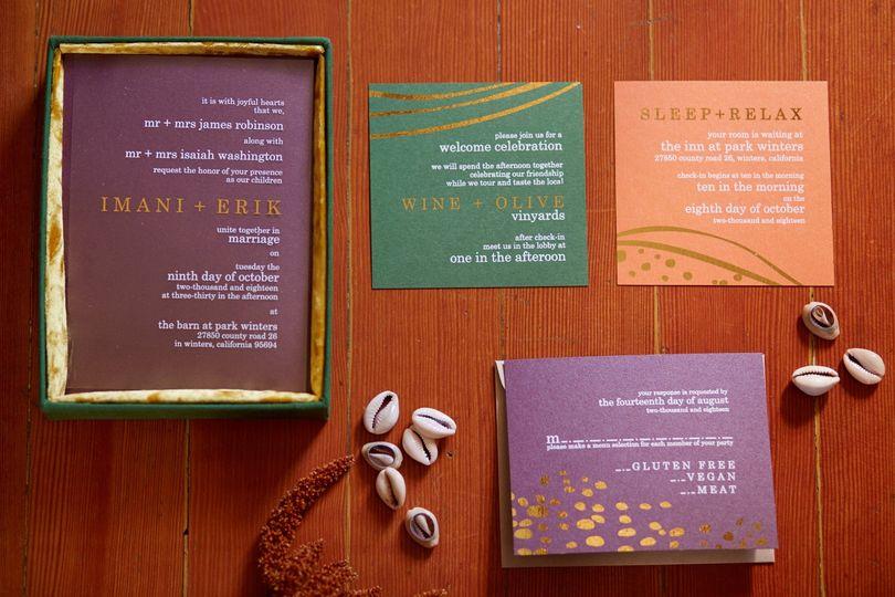 Custom Acrylic Invitation