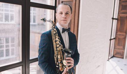Saxophonist Nikita Naymushin