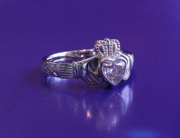 Tmx 1311273823264 DiamondCladdaghRing Boston wedding jewelry