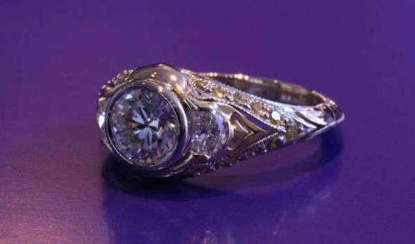 Tmx 1386005370568 Half Moons And Yellow Diamond Boston wedding jewelry