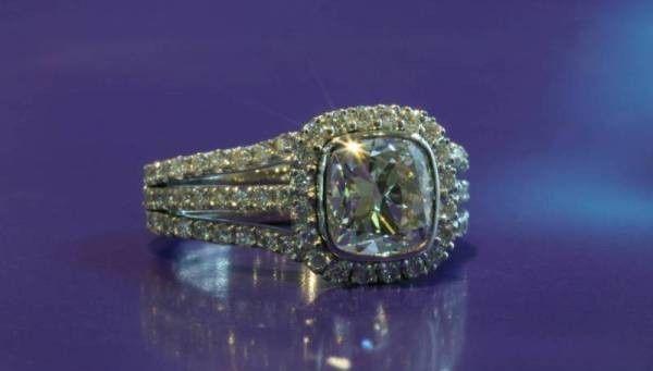 Tmx 1386006306457 Three Row Cushion Pav Boston wedding jewelry