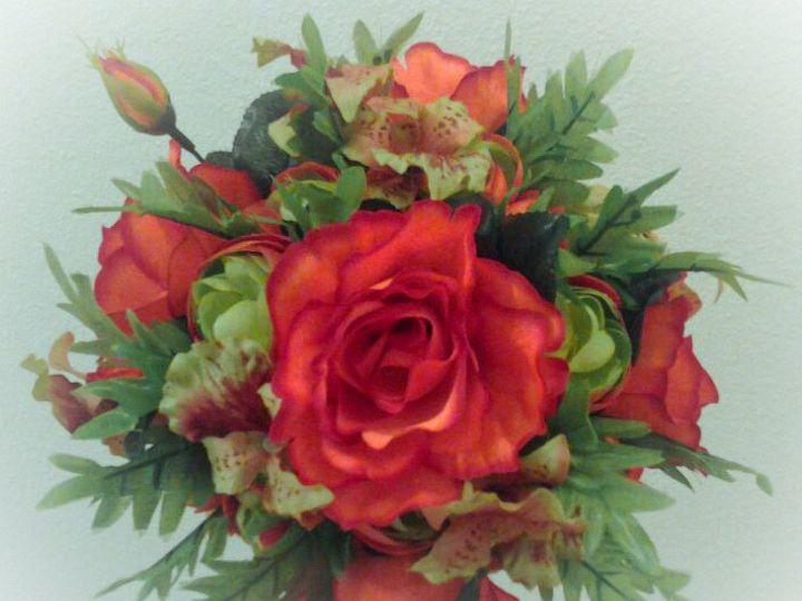 Tmx 1415886939959 Orange Bouquet2 Tampa, FL wedding eventproduction