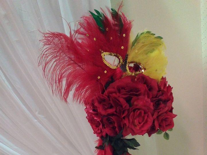 Tmx 1481044705503 Mask Centerpiece Tampa, FL wedding eventproduction