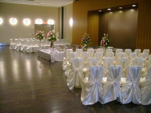 Satin Self-tie Chair Covers