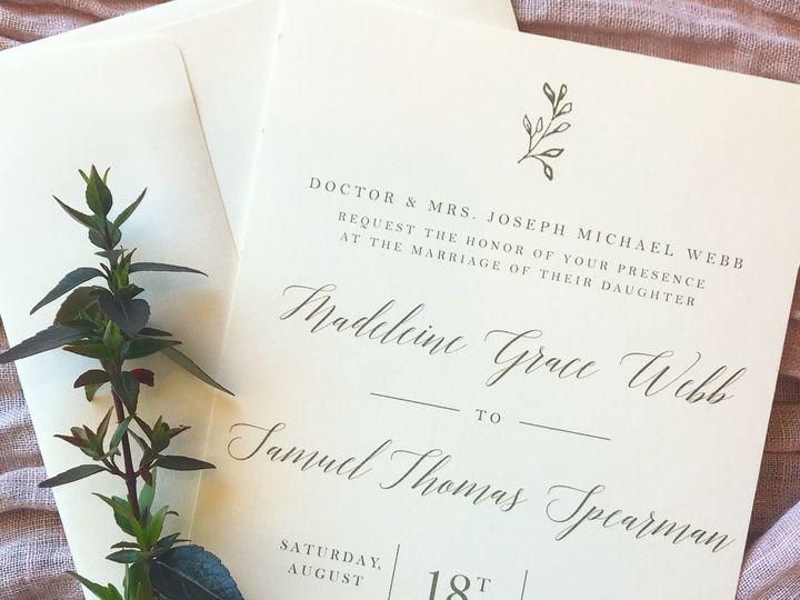 Tmx 0423dfc4 44b5 4eb6 A804 410a259fd3f7 51 1059199 Florence, AL wedding invitation