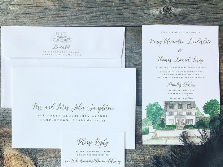 Tmx Img 8921 51 1059199 1562683225 Florence, AL wedding invitation