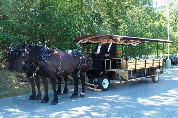 20 Passenger Trolley for your entire wedding party!