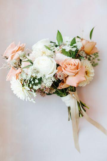 Bride's Bouquet Dusty Rose