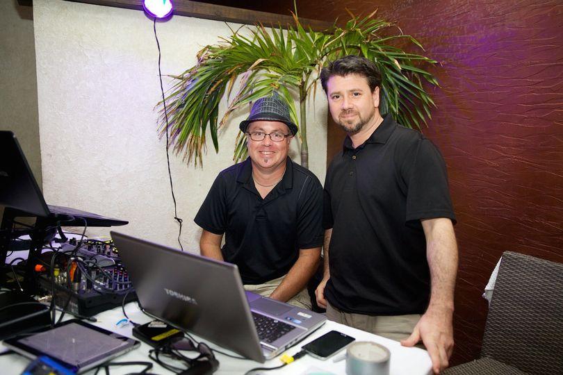 DJ Tim with MC Thomas