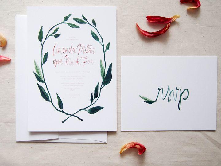 Tmx 1474991688621 New Product Shots 9 Royal Oak wedding invitation