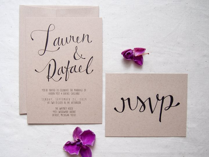 Tmx 1474991807531 New Product Shots 33 Royal Oak wedding invitation