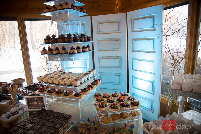 Christiani's Temptation Tower of desserts