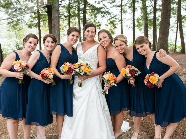 Tmx 1511737581458 Dannah With Bridesmaids Gorham wedding beauty