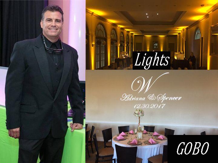 DJ, Lighting, Gobo, Video