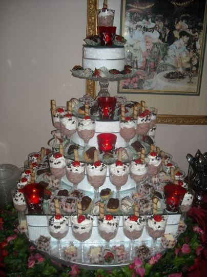 Our dessert or wedding cake tower