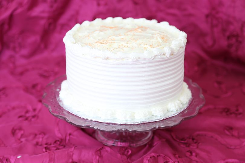 Single layer cake