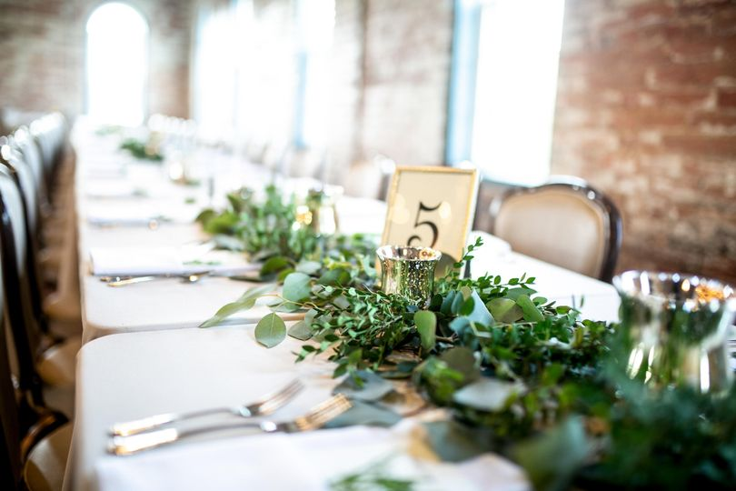 Flatware, table numbers