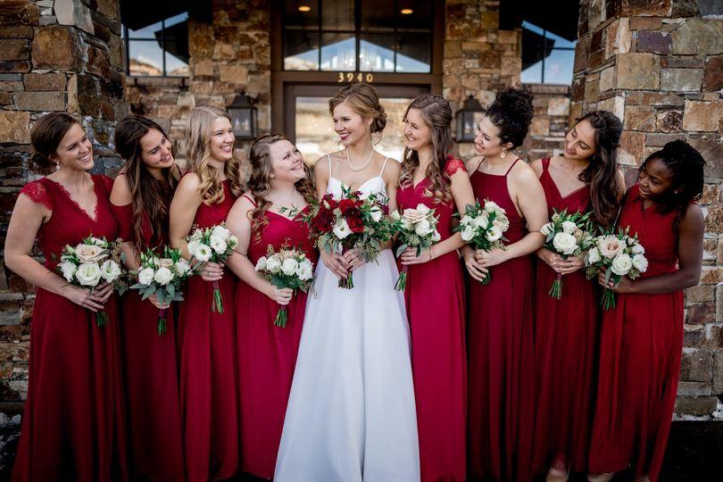 Julia & Bridesmaids