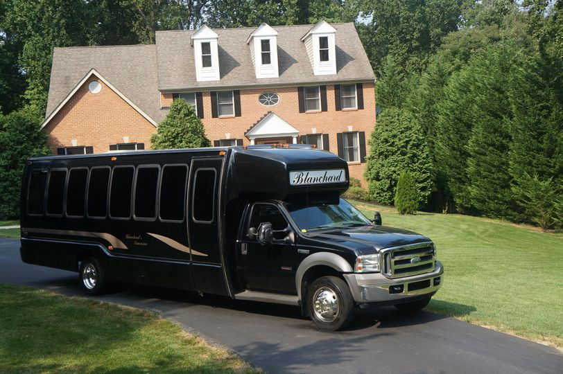 27 passanger shuttle bus